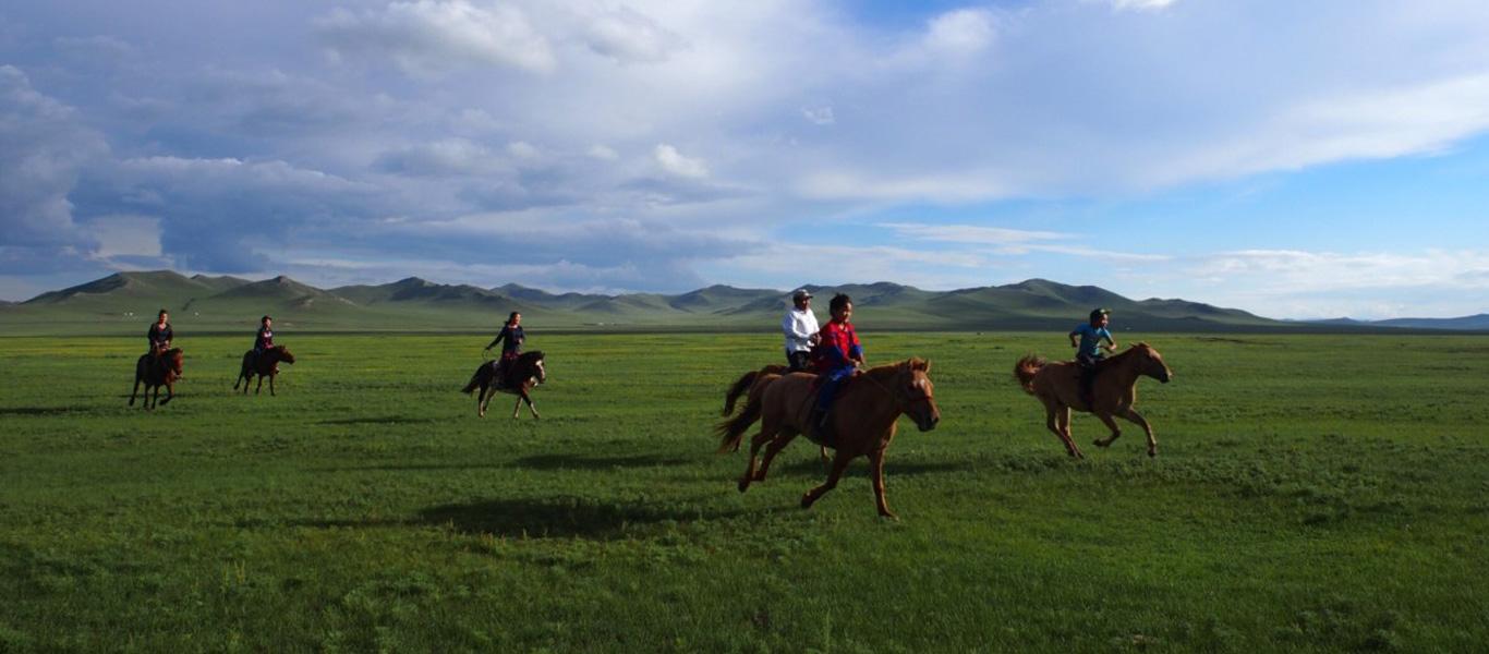オユンキャンプinモンゴル